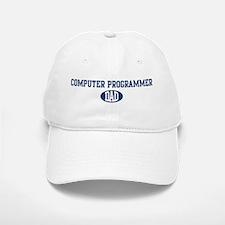 Computer Programmer dad Baseball Baseball Cap