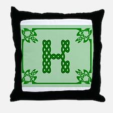 Unique Celtic k Throw Pillow