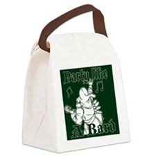 Green Party Bard Canvas Lunch Bag