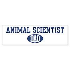 Animal Scientist dad Bumper Bumper Sticker