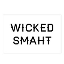 Wicked Smaht Postcards (Package of 8)