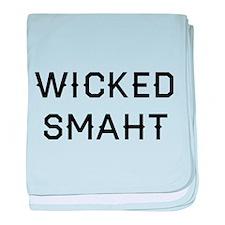 Wicked Smaht baby blanket
