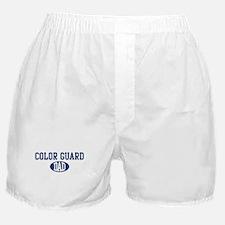Color Guard dad Boxer Shorts