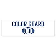 Color Guard dad Bumper Bumper Sticker