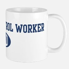 Animal Control Worker dad Mug