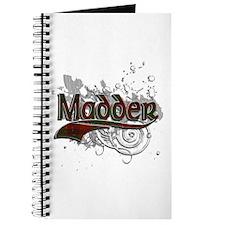 Madder Tartan Grunge Journal