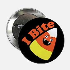 "I Bite Candy Corn 2.25"" Button"