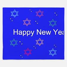 Happy New Year King Duvet