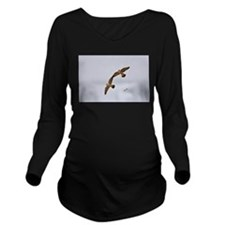 Utica Long Sleeve Maternity T-Shirt