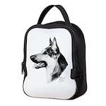 German Shepherd Dog Neoprene Lunch Bag