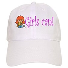 Girl Photographer Baseball Cap