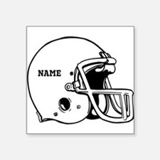 Customize a Football Helmet Sticker