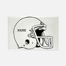 Customize a Football Helmet Magnets