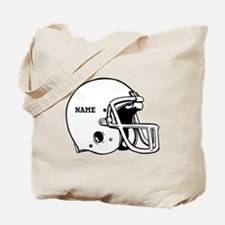 Customize a Football Helmet Tote Bag