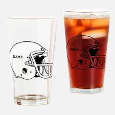 Customize a Football Helmet Drinking Glass