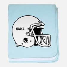 Customize a Football Helmet baby blanket
