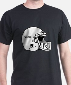 Customize a Football Helmet T-Shirt