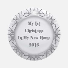 Country Cottage 1st Home Christmas Ornament 2016