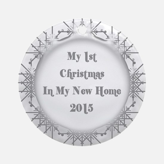 My First House Christmas Ornament  CafePress