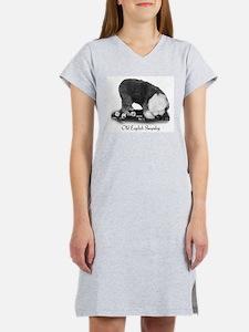 Old English Sheepdog Women's Nightshirt