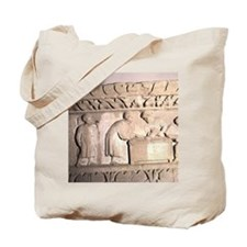 Romano-German Period. Relief showing Tax  Tote Bag