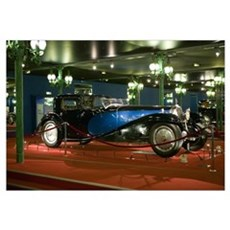 Largest and Most Exclusive Car from Bugatti Nation Canvas Art