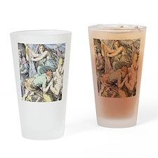 Samson is captured after Delilah cu Drinking Glass