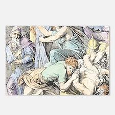 Samson is captured after  Postcards (Package of 8)