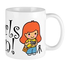 Girl Photographer Mug