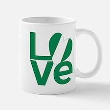Nigerian Green LOVE Mugs