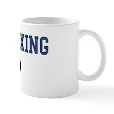 Chess Boxing dad Mug