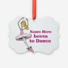 Custom Dancer Design Ornament