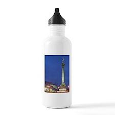 July Column (b.1833) & Water Bottle