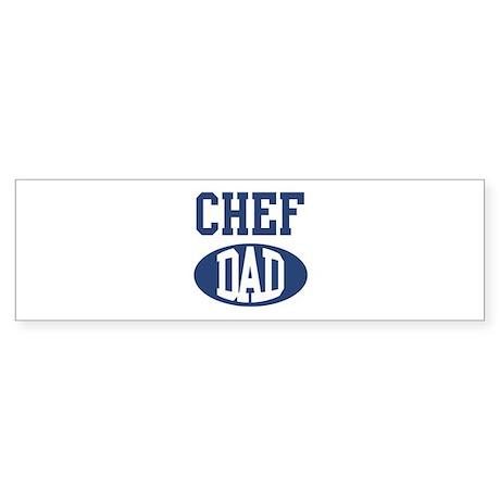 Chef dad Bumper Sticker