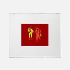 Gay Anniversary Throw Blanket