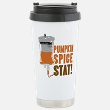 IV Pumpkin Spice Stat Travel Mug