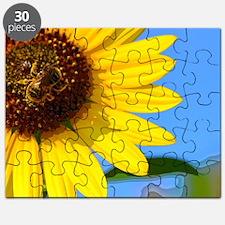 Sunflower and Honeybee Puzzle