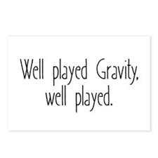 Gravity Games Postcards (Package of 8)