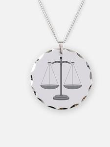 Balance Scale Necklace