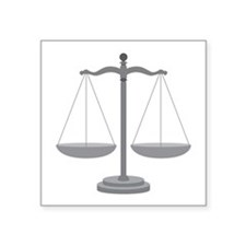 Balance Scale Sticker