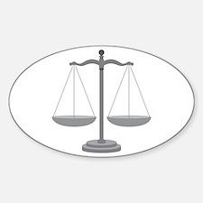 Balance Scale Decal
