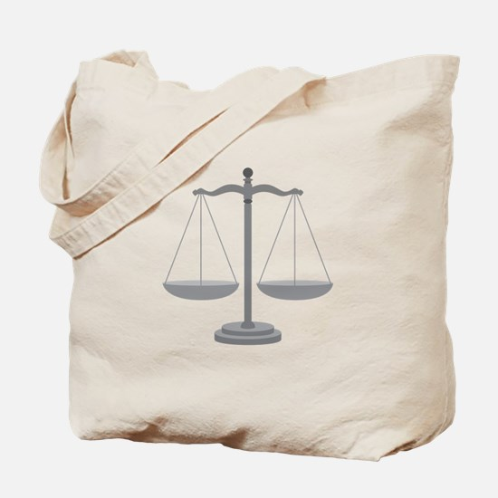Balance Scale Tote Bag