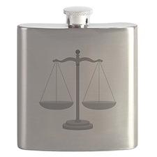 Balance Scale Flask