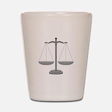 Balance Scale Shot Glass