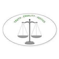 Truth-Equality-Justice Bumper Stickers