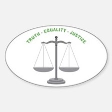 Truth-Equality-Justice Decal