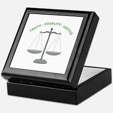 Truth-Equality-Justice Keepsake Box