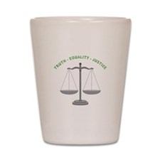 Truth-Equality-Justice Shot Glass