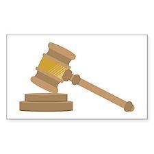 Judges Gavel Decal