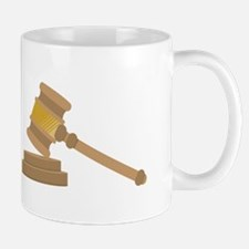 Judges Gavel Mugs
